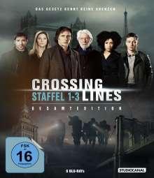 Crossing Lines Staffel 1-3 (Gesamtedition) (Blu-ray), 6 Blu-ray Discs