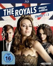 The Royals Staffel 1-3 (Blu-ray), 6 Blu-ray Discs