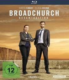 Broadchurch (Gesamtedition) (Blu-ray), 6 Blu-ray Discs