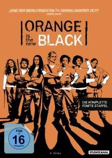 Orange is the New Black Staffel 5, 5 DVDs