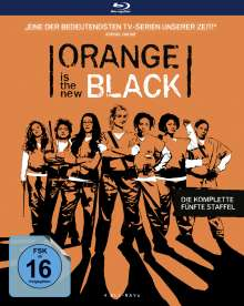 Orange is the New Black Staffel 5 (Blu-ray), 4 Blu-ray Discs