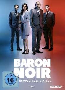 Baron Noir Staffel 2, 3 DVDs