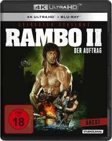 Rambo II - Der Auftrag (Ultra HD Blu-ray & Blu-ray), 2 Ultra HD Blu-rays