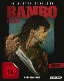Rambo Trilogy (Blu-ray), 3 Blu-ray Discs