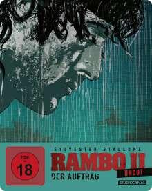 Rambo II - Der Auftrag (Blu-ray im Steelbook), Blu-ray Disc