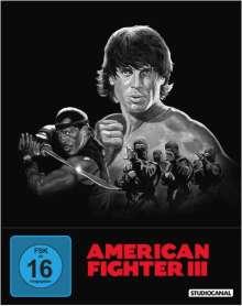 American Fighter 3 - Die blutige Jagd (Blu-ray im Steelbook), Blu-ray Disc