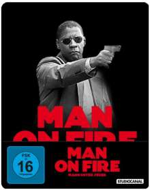 Man on Fire - Mann unter Feuer (Blu-ray im Steelbook), Blu-ray Disc