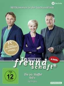 In aller Freundschaft Staffel 20 Box 1, 6 DVDs