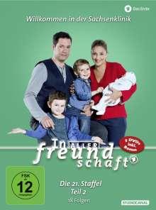 In aller Freundschaft Staffel 21 Box 2, 5 DVDs