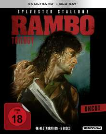 Rambo Trilogy (Ultra HD Blu-ray & Blu-ray), 3 Ultra HD Blu-rays