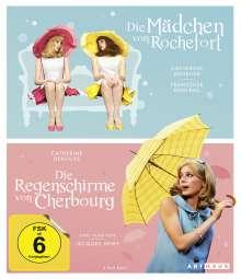 Die Mädchen von Rochefort / Die Regenschirme von Cherbourg (OmU) (Blu-ray), 2 Blu-ray Discs