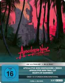 Apocalypse Now (Limited 40th Anniversary Edition) (Ultra HD Blu-ray & Blu-ray im Steelbook), 6 Ultra HD Blu-rays