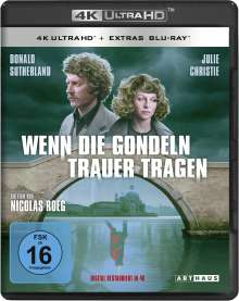 Wenn die Gondeln Trauer tragen (Ultra HD Blu-ray & Blu-ray), 1 Ultra HD Blu-ray und 1 Blu-ray Disc
