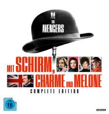 Mit Schirm, Charme und Melone (Complete Edition), 54 DVDs