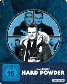Hard Powder (Blu-ray im Steelbook), Blu-ray Disc