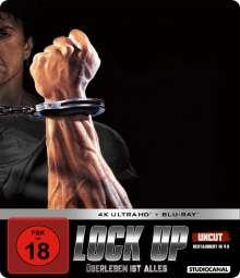 Lock Up - Überleben ist alles (Ultra HD Blu-ray & Blu-ray im Steelbook), 2 Ultra HD Blu-rays