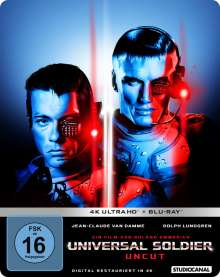 Universal Soldier (Ultra HD Blu-ray & Blu-ray im Steelbook), 1 Ultra HD Blu-ray und 1 Blu-ray Disc