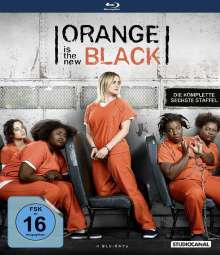 Orange is the New Black Staffel 6 (Blu-ray), 4 Blu-ray Discs