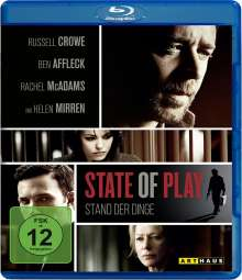 State of Play (Blu-ray), Blu-ray Disc