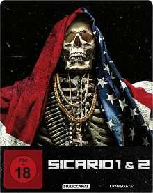 Sicario 1 & 2 (Blu-ray im Steelbook), 2 Blu-ray Discs