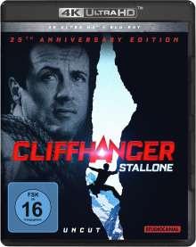 Cliffhanger (25th Anniversary Edition) (Ultra HD Blu-ray & Blu-ray), Ultra HD Blu-ray
