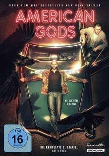 American Gods Staffel 2, 3 DVDs