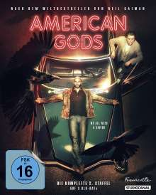 American Gods Staffel 2 (Blu-ray), 3 Blu-ray Discs