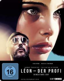 Leon - Der Profi (Director's Cut) (Blu-ray im Steelbook), Blu-ray Disc