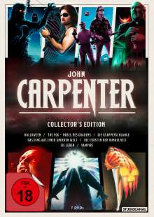 John Carpenter (Collector's Edition), 7 DVDs
