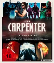 John Carpenter (Collector's Edition) (Blu-ray), 7 Blu-ray Discs