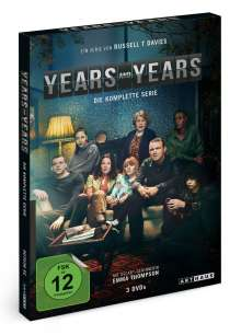 Years & Years (Komplette Serie), 3 DVDs