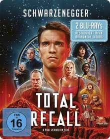 Total Recall (1990) (Blu-ray im Steelbook), 2 Blu-ray Discs