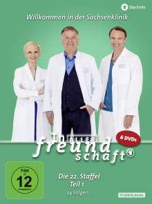 In aller Freundschaft Staffel 22 Box 1, 6 DVDs