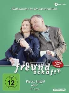 In aller Freundschaft Staffel 22 Box 2, 5 DVDs