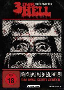 3 From Hell, DVD