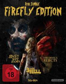 Rob Zombie Firefly Edition (Blu-ray), 3 Blu-ray Discs