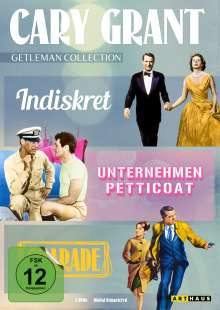 Cary Grant - Gentleman Collection, 3 DVDs