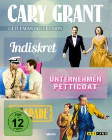 Cary Grant - Gentleman Collection (Blu-ray), 3 Blu-ray Discs