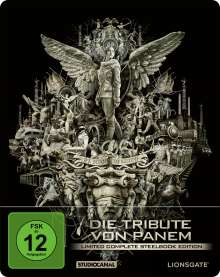 Die Tribute von Panem (Limited Complete Edition) (Blu-ray im Steelbook), 4 Blu-ray Discs