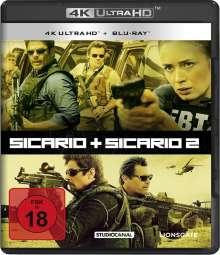 Sicario 1 & 2 (Ultra HD Blu-ray & Blu-ray), 4 Ultra HD Blu-rays