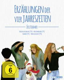 Eric Rohmer: Erzählungen der vier Jahreszeiten, 4 DVDs