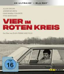 Vier im roten Kreis (Ultra HD Blu-ray & Blu-ray), 1 Ultra HD Blu-ray und 1 Blu-ray Disc