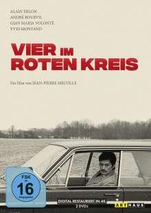 Vier im roten Kreis (Special Edition), 2 DVDs