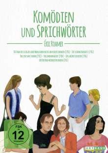Eric Rohmer: Komödien und Sprichwörter, 6 DVDs