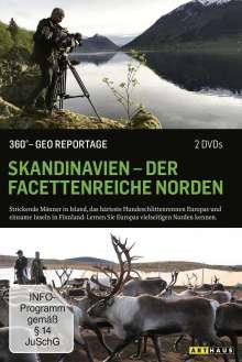 360° Geo-Reportage: Skandinavien - Der facettenreiche Norden, 2 DVDs