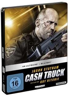 Cash Truck (Ultra HD Blu-ray & Blu-ray im Steelbook), 1 Ultra HD Blu-ray und 1 Blu-ray Disc