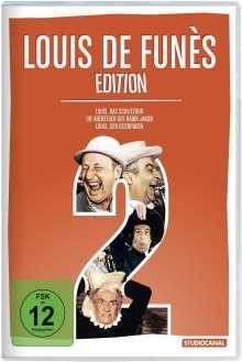 Louis de Funès Edition 2, 3 DVDs