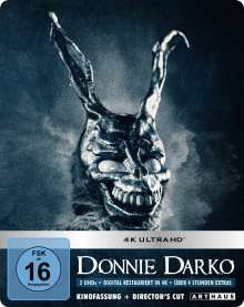 Donnie Darko (Ultra HD Blu-ray im Steelbook), 2 Ultra HD Blu-rays