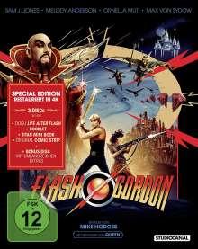 Flash Gordon (Special Edition) (Blu-ray im Digipak), 3 Blu-ray Discs
