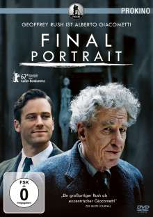 Final Portrait, DVD